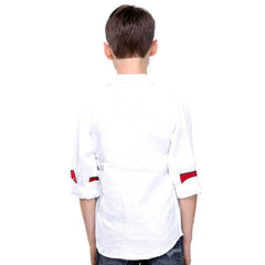 MashUp White Linen Shirt - mashup boys