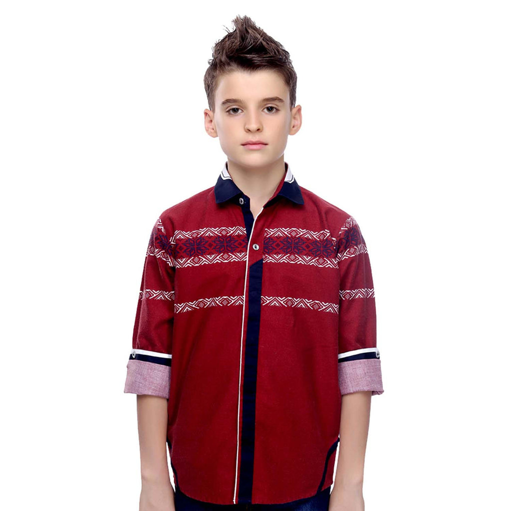 MashUp Designer Collection – maroon shirt - KRAZYLA