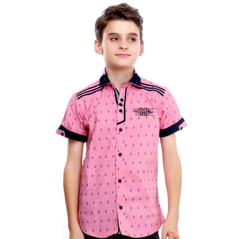 MashUp Color Crush Pink Shirt - mashup boys