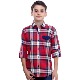 MashUp Red Shirt For Boys - mashup boys