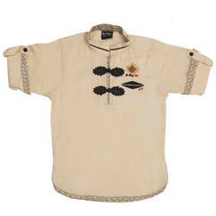 Designer linen kurta from the house of Bad Boys - KRAZYLA