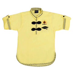 Designer linen kurta from the house of Bad Boys - mashup boys