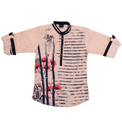 Floral print kurta from the house of Bad Boys - mashup boys