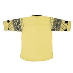 Bad Boys printed sleeves Yellow kurta shirt - KRAZYLA