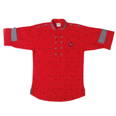 Bad Boys Polka Dots Kurta Shirt - mashup boys