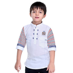 Ethnic printed sleeves kurta from the house of Bad Boys. - mashup boys