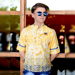 Tie n die print kurta from the house of Bad Boys - mashup boys