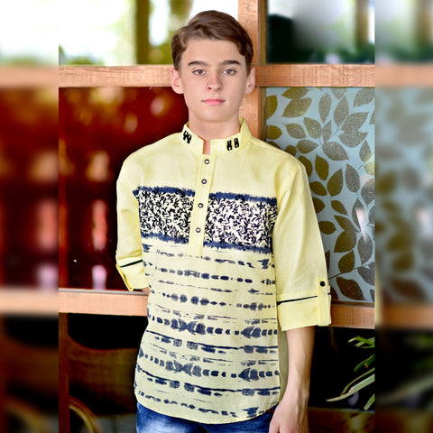 Embellished kurta from the house of Bad Boys - KRAZYLA