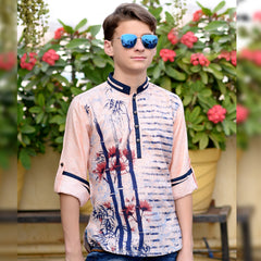Floral print kurta from the house of Bad Boys - KRAZYLA