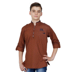 Paisley print kurta from the house of Mashup. - mashup boys