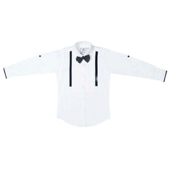 MashUp Classic White Dress Shirt - mashup boys