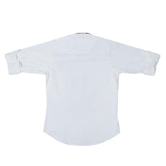MashUp Designer White Party Shirt - KRAZYLA