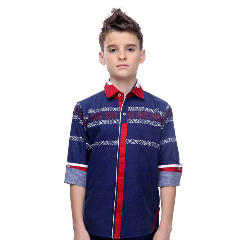 MashUp Designer Collection – Blue shirt - KRAZYLA