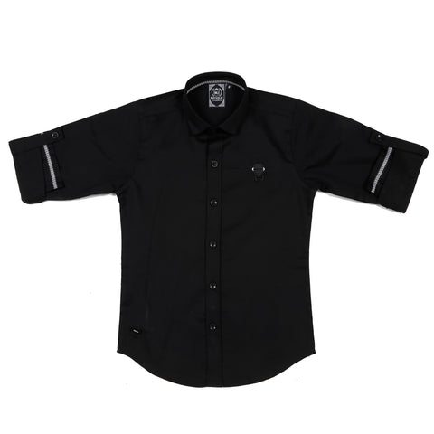 MashUp Black Casual Shirt - mashup boys