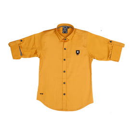 MashUp Mustard Casual Shirt - mashup boys