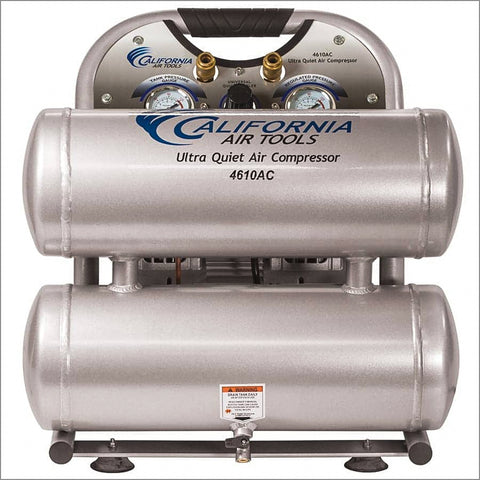 California Air 4610AC Ultra Quiet Air Compressor, 110 V