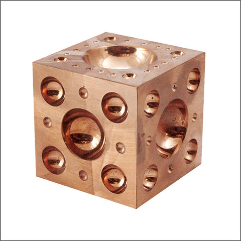 DOMING BLOCK BRONZE (Square Doming Block - Bronze)