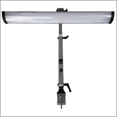Grobet USA Professional LED Bench Lamp with Dimmer Switch