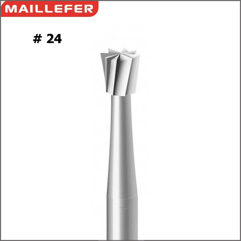MAILLERFER Inverted cone BUR ( #24 )  SIZE:006-029 SWISS