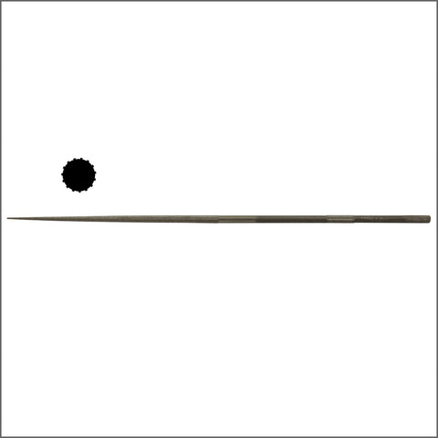 "Grobet USA 7-3/4"" (20cm) Round Needle File"