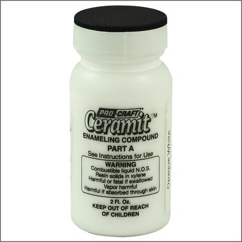 CERAMITATION COLORS-2 OZ OP WHITE-part A