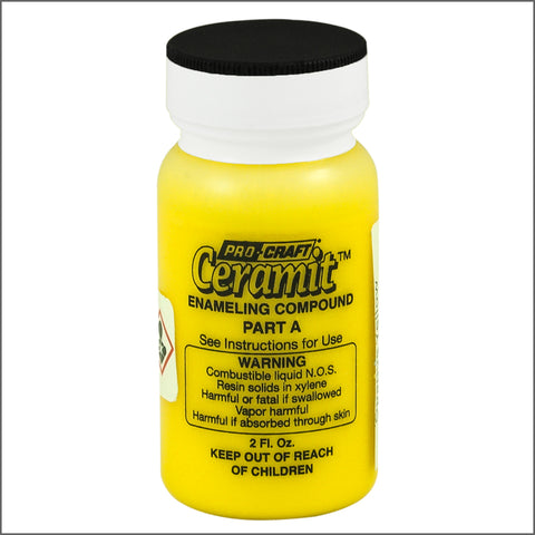CERAMITATION COLORS-2 OZ  opaque yellow-part A