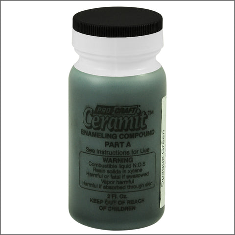 CERAMITATION COLORS-2 OZ  opaque green-part A