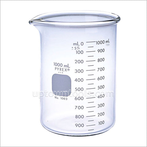 BEAKER- PYREX 1000 ML