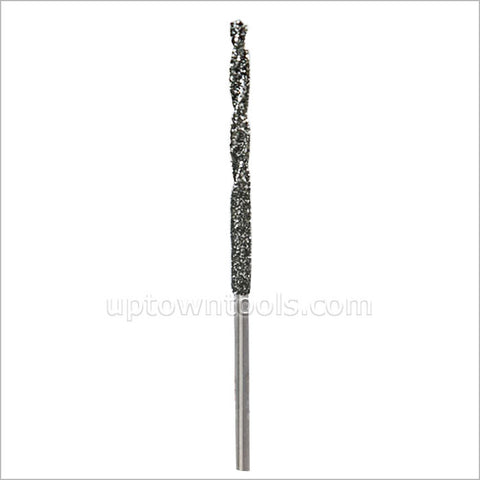 DIAMOND TWIST DRILL BIT- 1.0MM -1.5MM