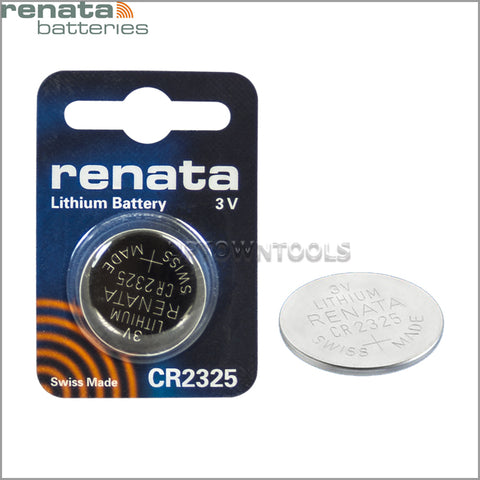 RENATA Cr2325 3V Lithium Batteries
