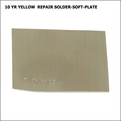 10yr  yellow repair solder-soft