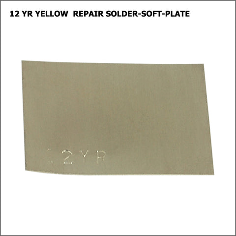 12yr  yellow repair solder-soft