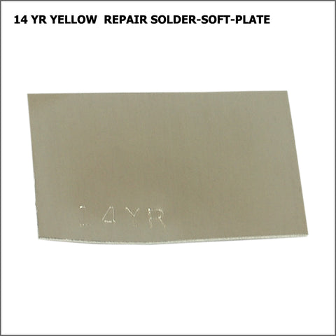 14yr  yellow repair solder-soft