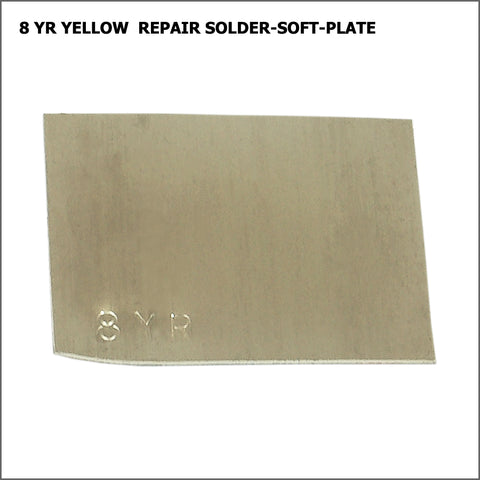 8yr  yellow repair solder-soft