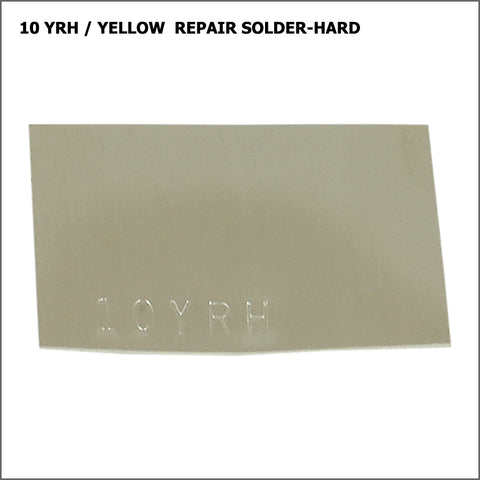 10yrh  yellow repair solder-hard