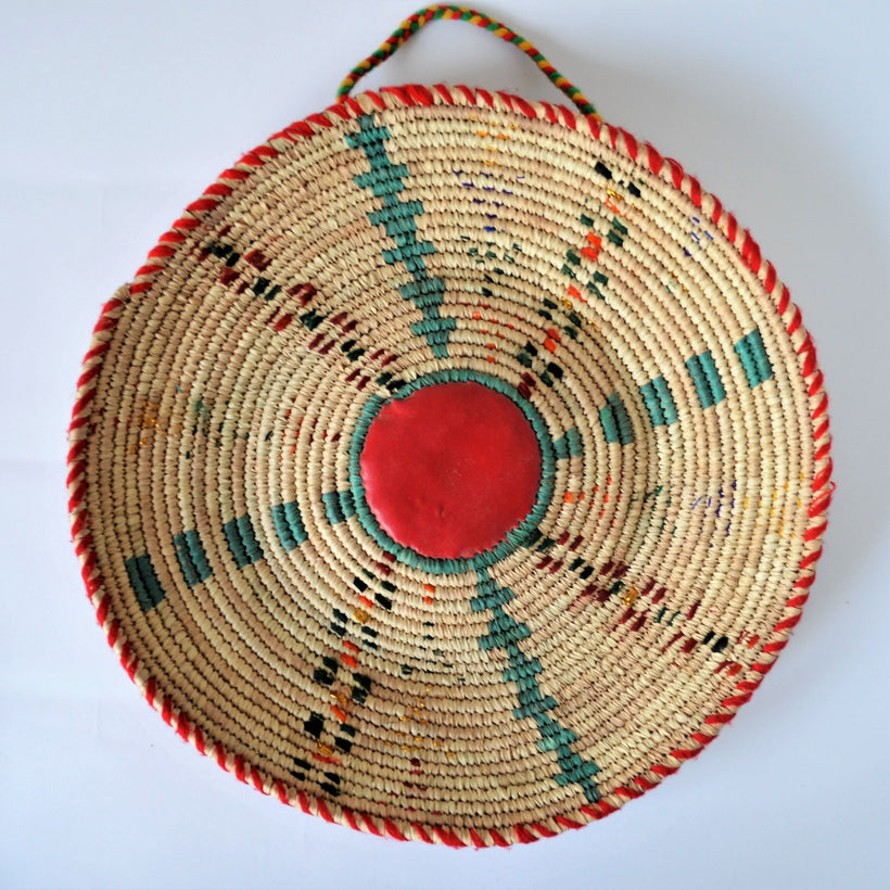 Round decor baskets