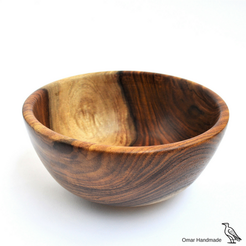 one-of-a-kind Wooden fruit bowl