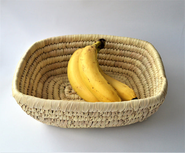 Fruit platter, Woven tray, Rectangle plate
