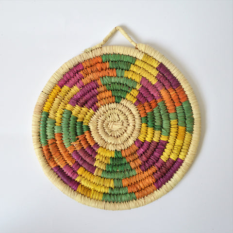 Traditional woven Nubian plates (P3011)