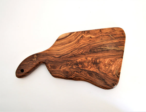 Olive wood serving board