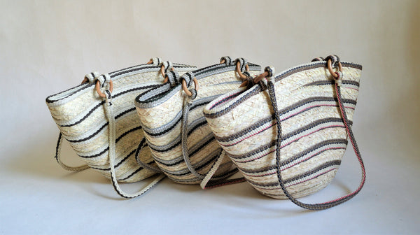 Big straw bag, Summer Clutch