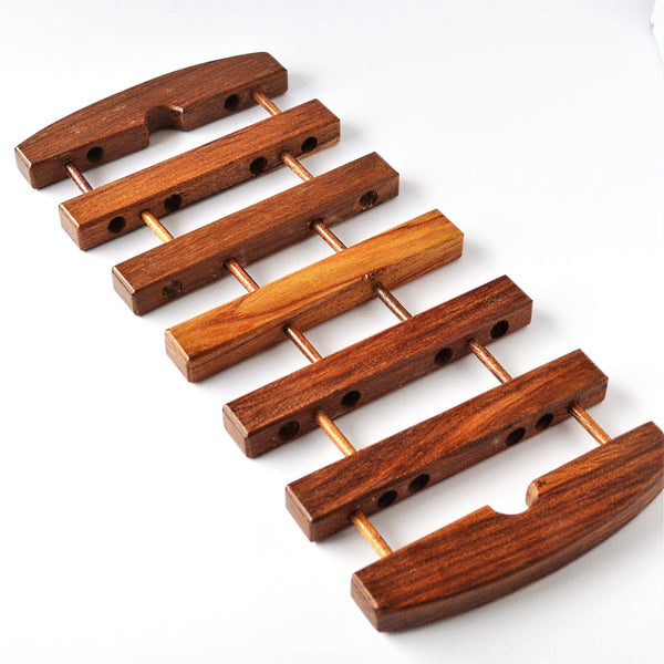 rectangle wooden hot pot Trivet (Expandable)