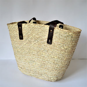 Beach bag, Big straw bag, Casual handbag