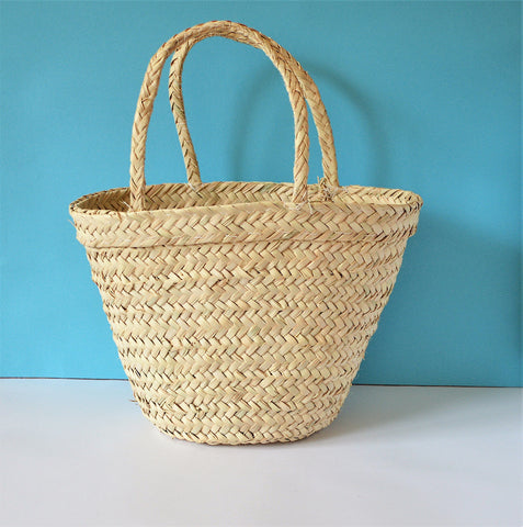 Summer bag, Palm leaves bag