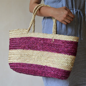 Straw Bag, straw basket,