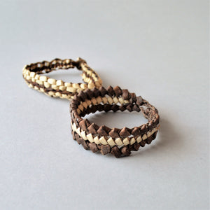 Shalateen Handmade braided leather bracelet