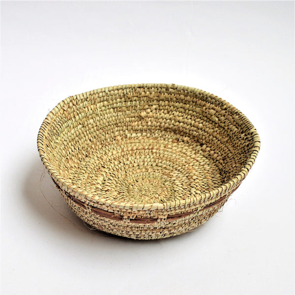 Woven snack plate, Serving dish, Catchall