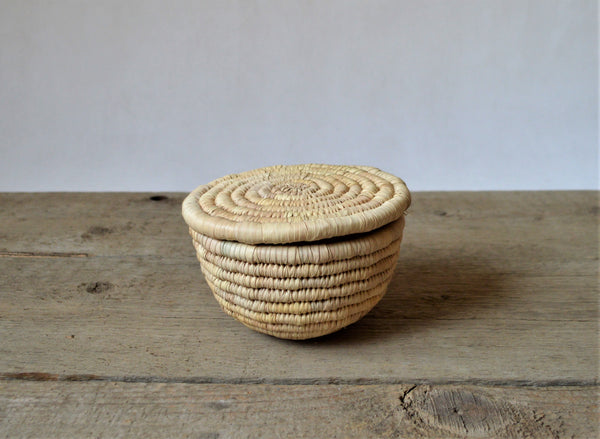Wicker box, Palm leaf basket