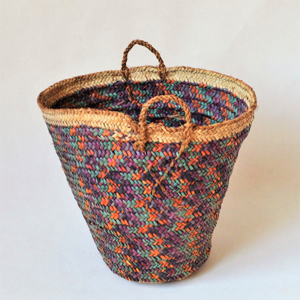 My vintage basket, Woven straw