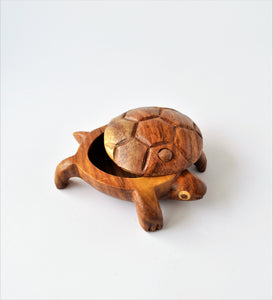 Turtle Ring box, Small turtle box
